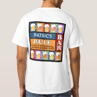 BEER Bar Pop Art CUSTOM NAME clothing T-Shirt