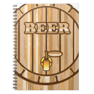 Beer barrel notebook