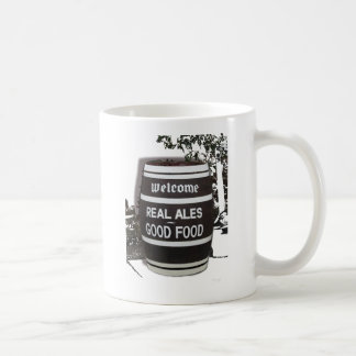 Beer Barrel real ale good food Coffee Mug