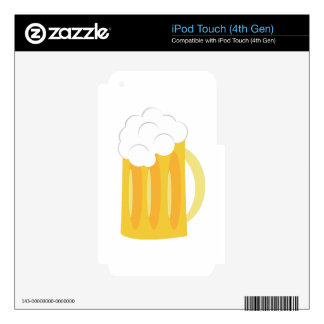 Beer Base iPod Touch 4G Decal
