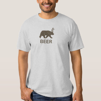 Beer Bear Deer T Shirt