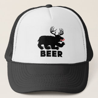 Beer -- Bear + Deer Trucker Hat