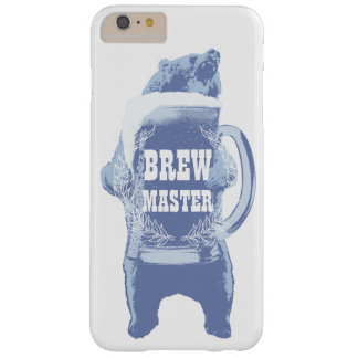 Beer Bear Home Brewing Brewmaster Barely There iPhone 6 Plus Case