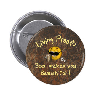 Beer Beautiful 2 Inch Round Button