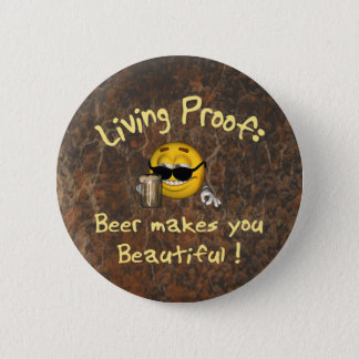 Beer Beautiful Button