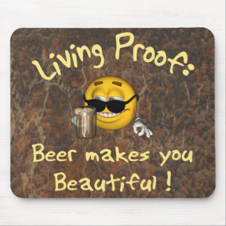 Beer Beautiful Mouse Pad