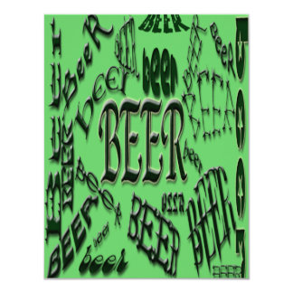 beer*BeEr*BEER Design Card