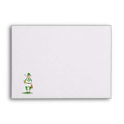 Beer Belly Ball Player Envelope
