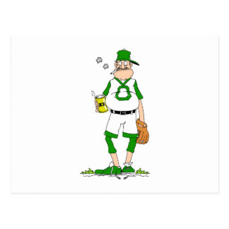 Beer Belly Ball Player Postcards