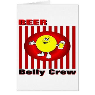 Beer Belly Crew Card