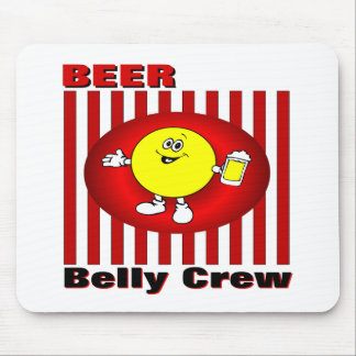 Beer Belly Crew Mouse Pad