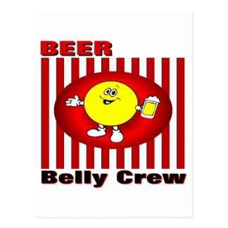 Beer Belly Crew Postcard