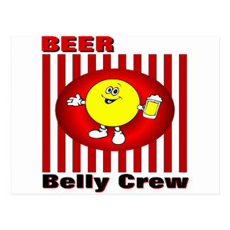 Beer Belly Crew Post Card