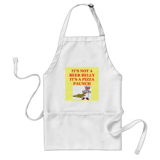 beer belly pizza adult apron