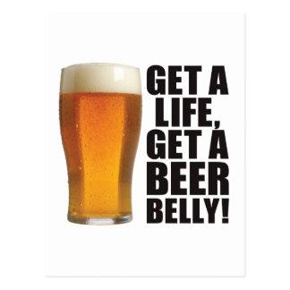 Beer Belly Post Card