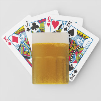 beer bicycle playing cards