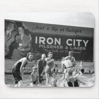 Beer Billboard, 1938 Mouse Pad