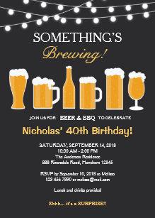 Adult birthday invitations zazzle beer birthday invitation adult birthday invitation filmwisefo