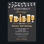 "Beer Birthday Invitation, Adult Birthday Invitation<br><div class=""desc"">Beer Birthday Invitation,  Adult Birthday</div>"