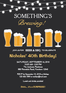 Adult birthday invitations announcements zazzle beer birthday invitation adult birthday invitation filmwisefo