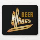 Beer Blades Mousepad