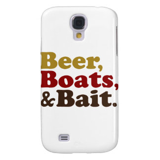 Beer Boats and Bait Fishing Samsung Galaxy S4 Cover