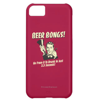 Beer Bongs: Go From 0 To Drunk In 3.5 Cover For iPhone 5C