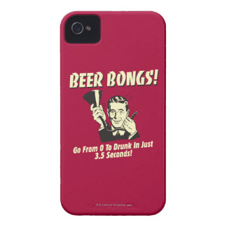 Beer Bongs: Go From 0 To Drunk In 3.5 iPhone 4 Case