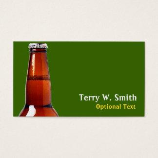 Beer Bottle Business Card