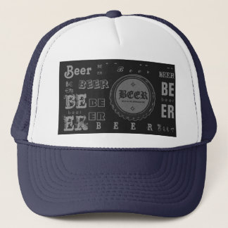 Beer Bottle Cap-Dark Grey/Lite Grey Trucker Hat