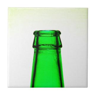 Beer Bottle Neck Ceramic Tile