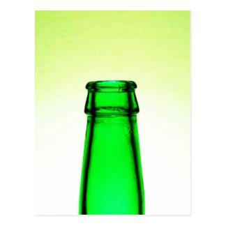 Beer Bottle Neck Postcard