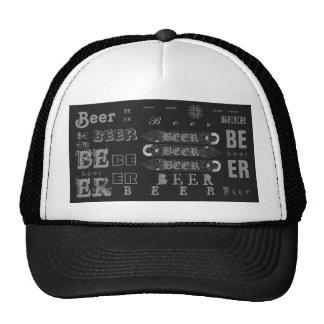 Beer Bottle Opener Cap-Dark Grey/Lite Grey Trucker Hat