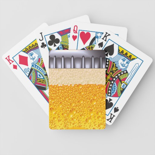 Beer Bottle Playing Cards
