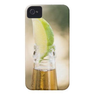 Beer bottle with lime wedge iPhone 4 cover