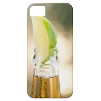 Beer bottle with lime wedge iPhone SE/5/5s case