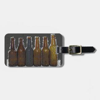 Beer Bottles Bag Tag