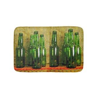 Beer Bottles Bath Mats