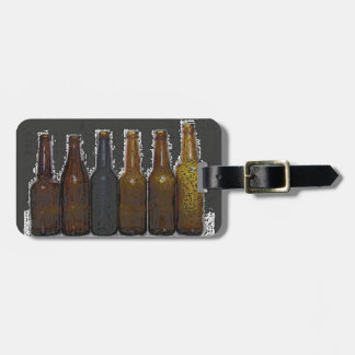Beer Bottles Tag For Luggage