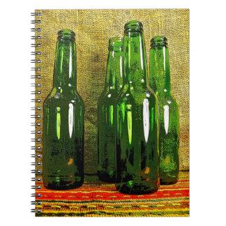 Beer Bottles Note Book