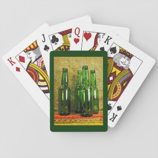 Beer Bottles Playing Cards