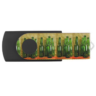 Beer Bottles Swivel USB 2.0 Flash Drive