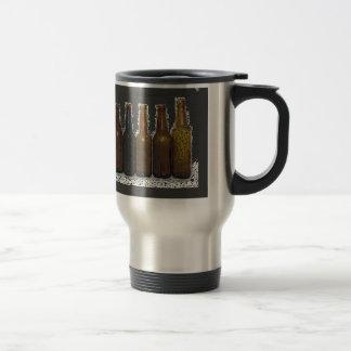 Beer Bottles Travel Mug