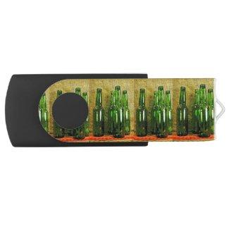 Beer Bottles USB 2.0 Flash Drive Swivel