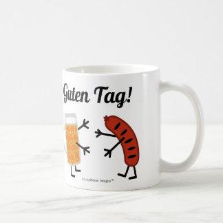 Beer & Bratwurst - Guten Tag! Coffee Mug