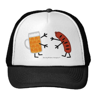 Beer & Bratwurst Trucker Hat