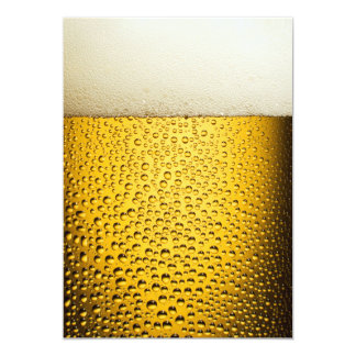 Beer Bubbles 1 Card