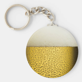 Beer Bubbles Ale Amber Drink Key Chains
