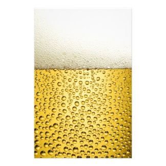 Beer Bubbles Ale Amber Drink Stationery