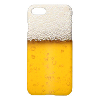 Beer Bubbles Background Pattern iPhone 7 Case